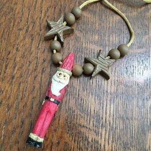 🆕🎁 Adjustable Santa Necklace